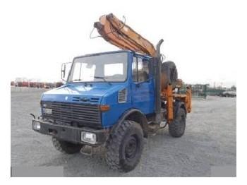 Unimog 1450 - mobile crane