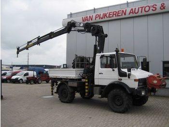 Unimog U 1450 - mobile crane