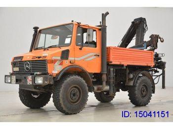 Unimog U 1450 * 4 X 4  - mobile crane