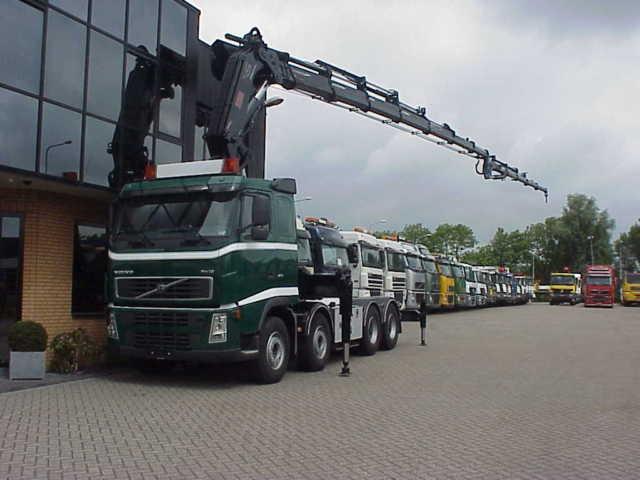 Mobile Crane Jib : Volvo fh hiab kran xs jib mobile crane