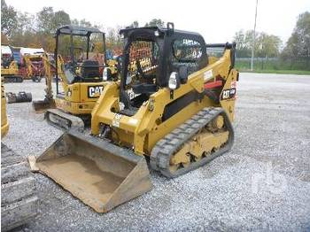 CATERPILLAR 259D 2 Spd High Flow - multi terrain loader