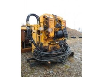 Pile driver Hydraulic Vibration Driver Tünkers HVB 100 VARIO with aggregate