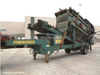 Powerscreen 1600 - construction machinery