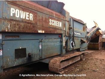 Powerscreen 511 - construction machinery