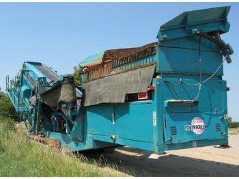 Powerscreen Chieftain 1800 on Tracks - construction machinery