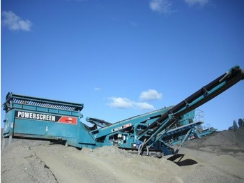 Powerscreen Chieftain 2100 - construction machinery