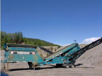 Powerscreen Chieftain Turbo 1400 - construction machinery