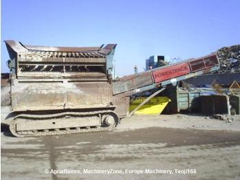 Powerscreen Powertrak 800 - construction machinery