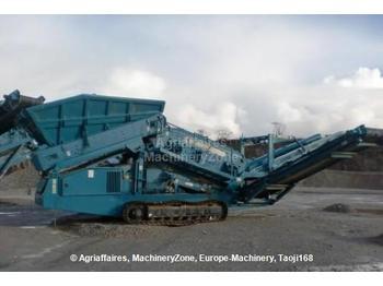 Powerscreen Warrior 1400 - construction machinery
