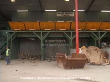 Powerscreen picking station - construction machinery