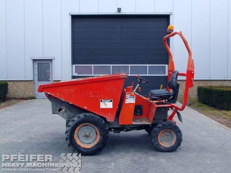 ausa 150 da 4x4 1 5t rigid dumper rock truck from netherlands for rh truck1 eu Portable Truck Dumper