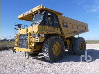 CATERPILLAR 773E 4x4 - rigid dumper/ rock truck