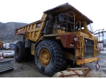 Rigid dumper/ rock truck Caterpillar 773B