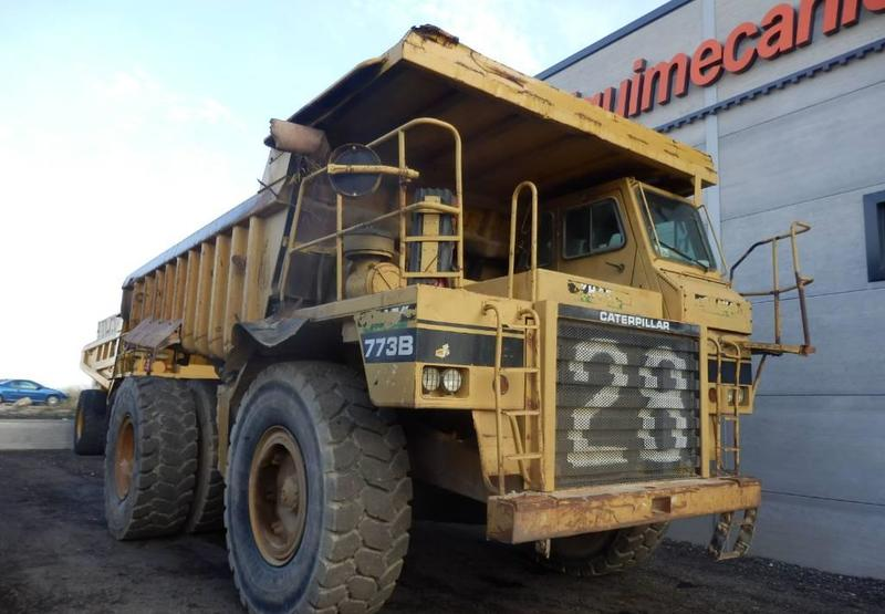 rigid dumper/ rock truck Caterpillar 773 B