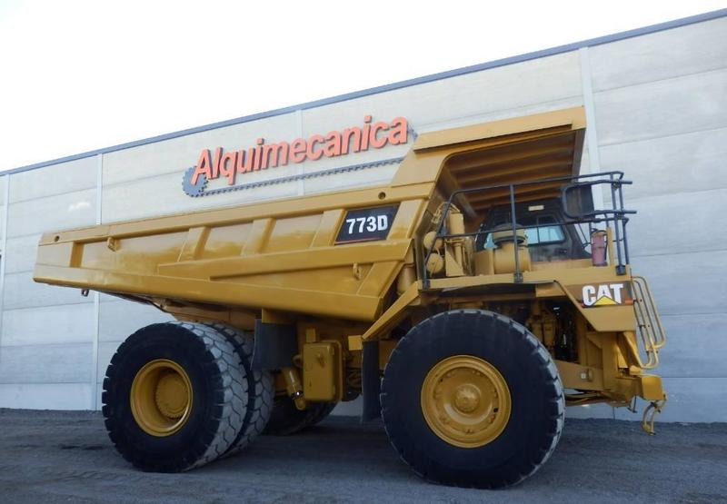 rigid dumper/ rock truck Caterpillar 773 D