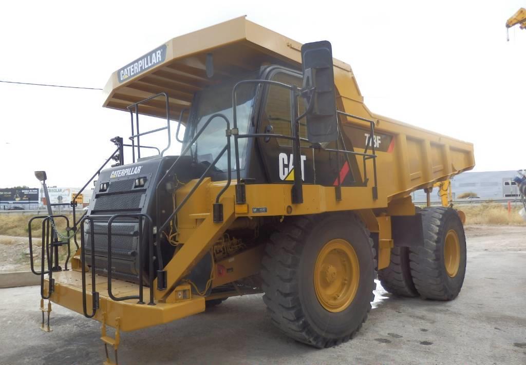 rigid dumper/ rock truck Caterpillar 773 F