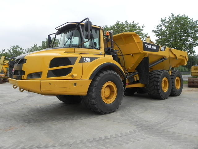 Volvo A 30f Rigid Dumper Rock Truck From Norway For Sale