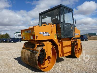 CASE VIBROMAX W554 road roller from Spain for sale at Truck1