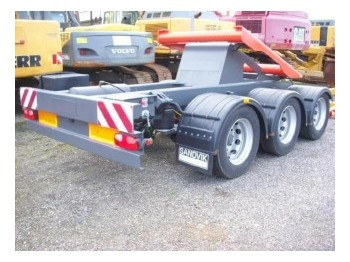 Sandvik / Extec Dolly axle / Dolly Transportachse - construction machinery