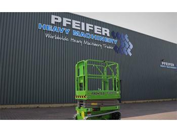 Scissor lift FRONTEQ FS0507T New, CE Declaration, 6.7m Working
