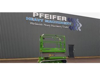 Scissor lift FRONTEQ FS0610T New, CE Declaration, 8m Working He