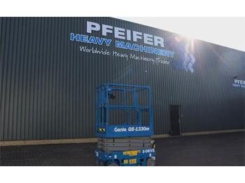 Scissor lift Genie GS1330M Valid inspection, *Guarantee! All-Electric