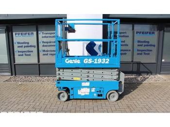 Scissor lift Genie GS1932 Electric, 7.8m Working Height.