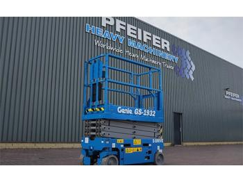 Scissor lift Genie GS1932 New And Available Directly From Stock, E-dr