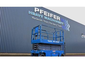 Scissor lift Genie GS2646 Electric, 10m Working Height, Non Marking T