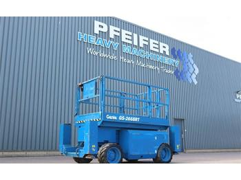 Scissor lift Genie GS2668RT Diesel, 4x4 Drive, 10m Working Height, Ro