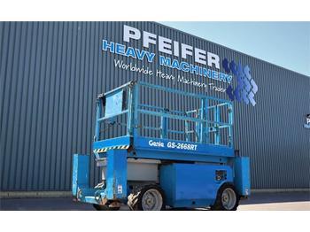 Scissor lift Genie GS2668RT Diesel, 4x4 Drive, 10m Working Height, Ro
