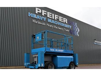 Scissor lift Genie GS2668RT Diesel, 4x4 Drive, 9.92m Working Height,