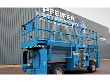 Scissor lift Genie GS3384RT Diesel, 4x4 Drive, 12m Working Height, 11