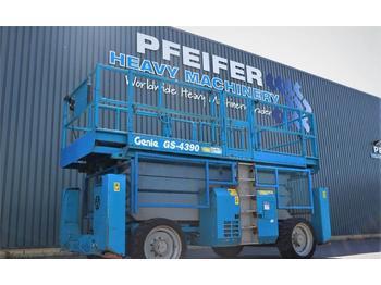 Scissor lift Genie GS4390RT Diesel, 4x4 Drive, 15.11m Working Height,
