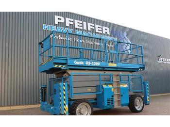 Scissor lift Genie GS5390RT Valid inspection, Completely Refurbisched