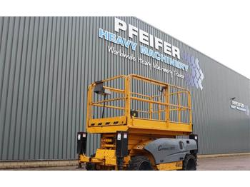 Haulotte COMPACT 10DX Diesel, 4x4 Drive, 10.2m Working Heig  - scissor lift