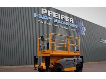 Scissor lift Haulotte COMPACT 10DX Diesel, 4x4 Drive, 10m Working Height