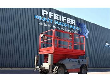 Scissor lift Haulotte COMPACT 12DX Diesel, 4x4 Drive, 12.2m Working Heig