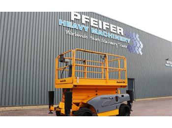 Scissor lift Haulotte COMPACT 12DX Diesel, 4x4 Drive, 12m Working Height