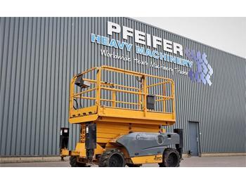 Scissor lift Haulotte COMPACT 12DX Diesel, 4x4 Drve, 12.2m Working Heigt
