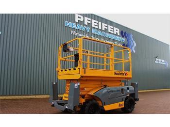 Scissor lift Haulotte COMPACT 12DX Valid inspection, *Guarantee! Diesel,