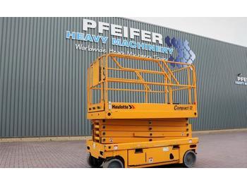 Scissor lift Haulotte COMPACT 12 Electric, 12m Working Height, 300 kg Ca