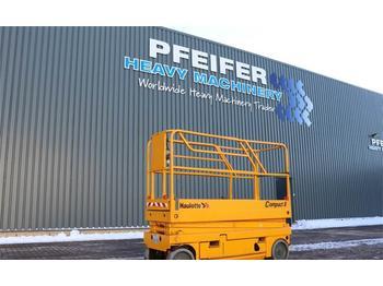 Scissor lift Haulotte COMPACT 8 Electric, 8.2m Working Height, Non Marki