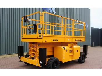 Haulotte H15SX Diesel, 4x4 Drive, 15m Working Height., Roug  - scissor lift