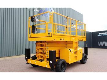 Scissor lift Haulotte H18SX Diesel, 4x4 Drive, 18 m Working Height, Roug