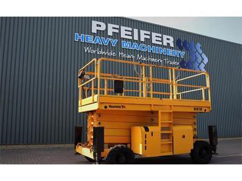Scissor lift Haulotte H18SX Diesel, 4x4 Drive, 18m Working Height, 500kg