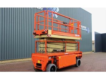 Scissor lift Holland Lift COMBISTAR N-140EL12 Electric, 16m Working Height,