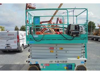 Scissor lift Iteco IT12122 elektro 13.90m NEW BATTERIES
