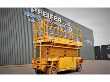 Scissor lift Liftlux SL153-E12 2WD Electric, 17.3m Working Height, 500k