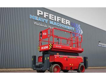 Scissor lift Magni DS1418RT New And Available Directly From Stock, Di